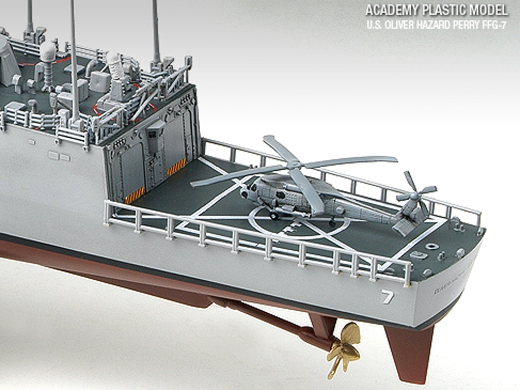 USS Oliver Hazard Perry FFG-7  (Vista 4)