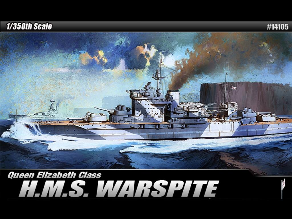 H.M.S, Warspite Queen Elizabeth  (Vista 1)