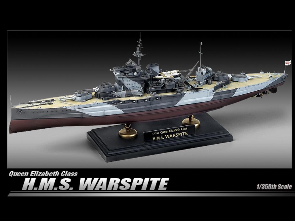 H.M.S, Warspite Queen Elizabeth  (Vista 2)