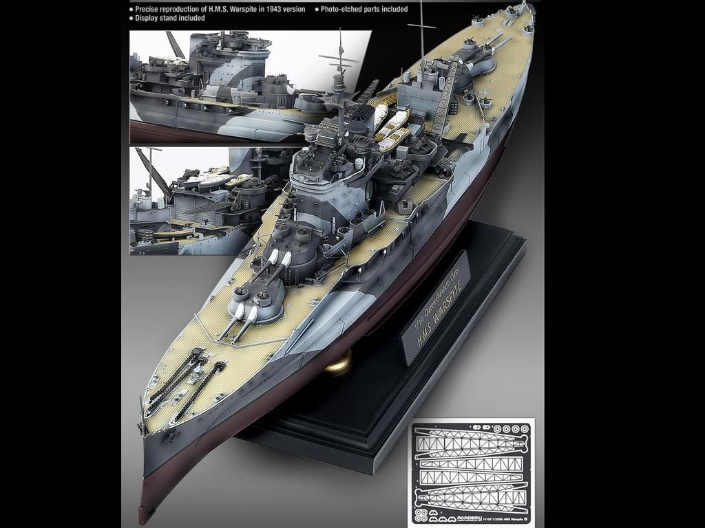H.M.S, Warspite Queen Elizabeth  (Vista 3)