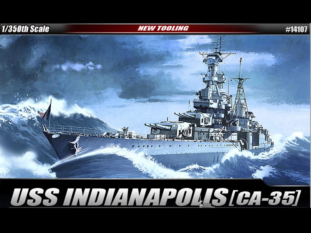 USS Indianapolis CA-35 Heavy Cruiser  (Vista 1)