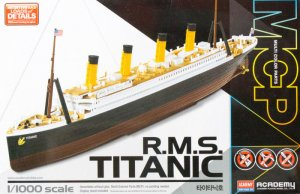 Titanic multi color parts  (Vista 1)