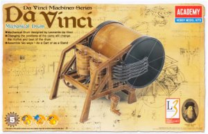 Da Vinci Mechanical Drum  (Vista 1)
