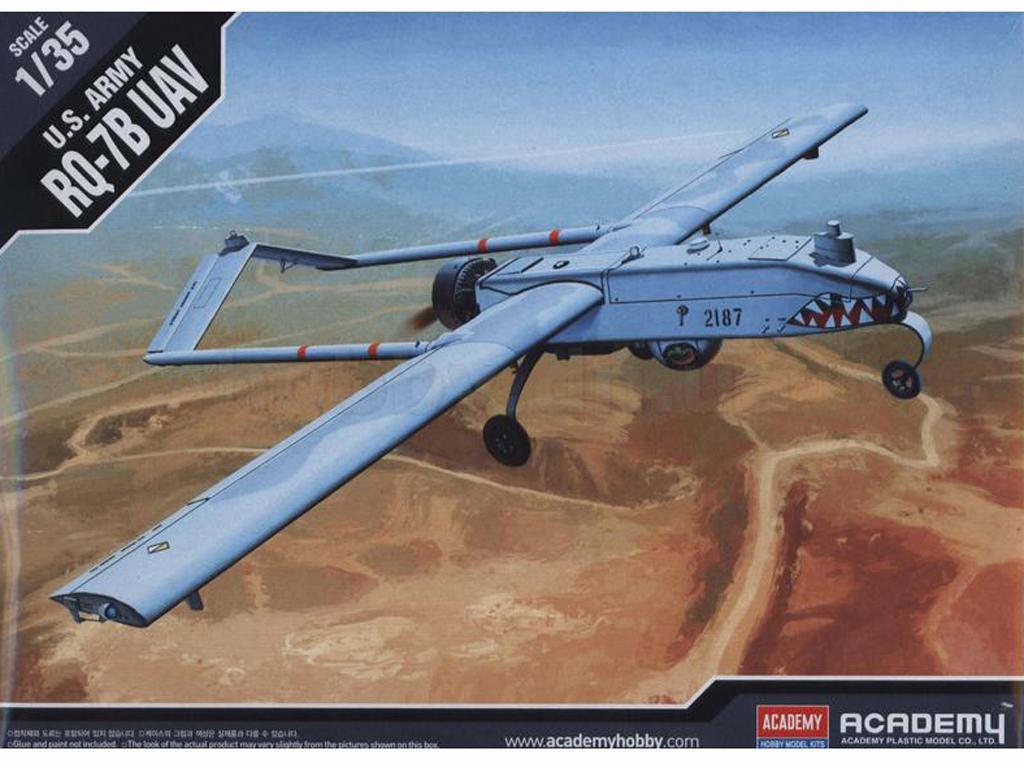 U.S. Army RQ-7B UAV (Vista 1)