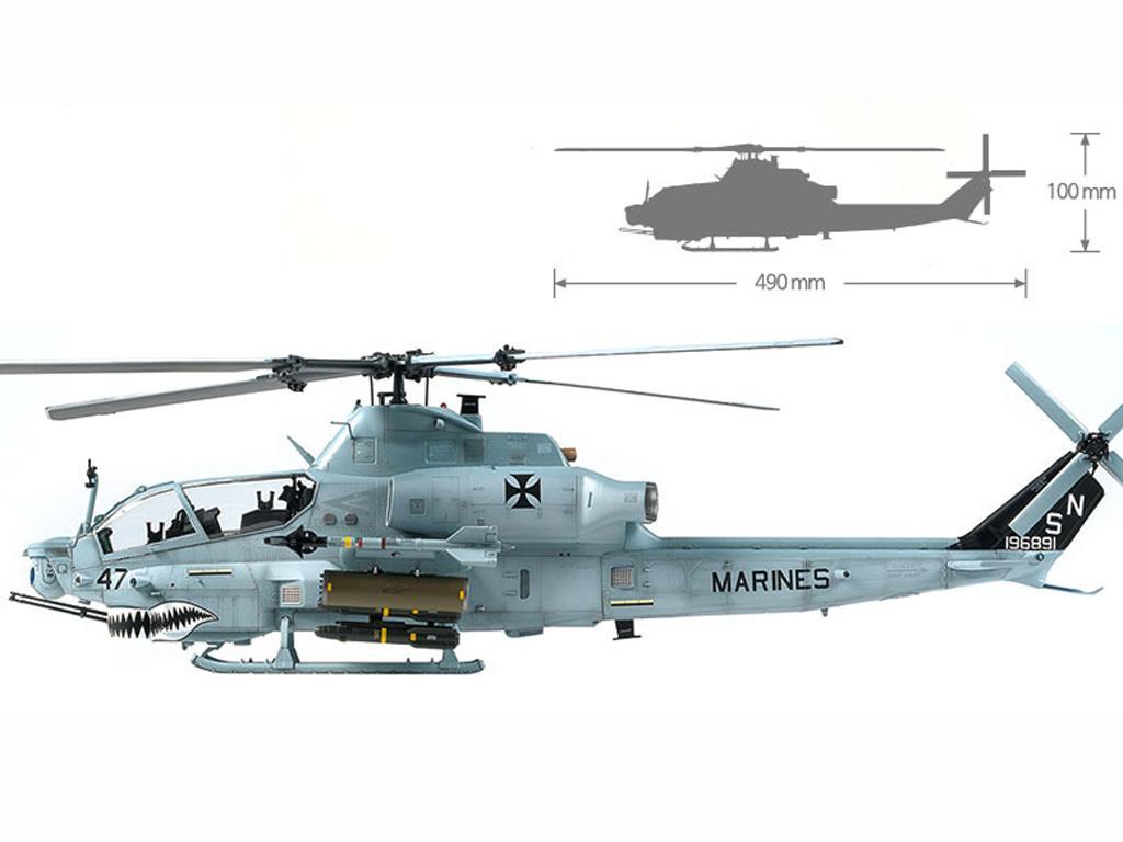 USMC AH-1Z  (Vista 11)
