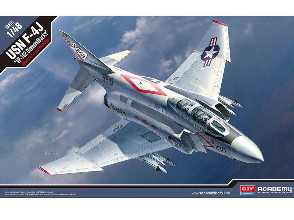 F-4J VF-102 Diamondbacks (Vista 1)