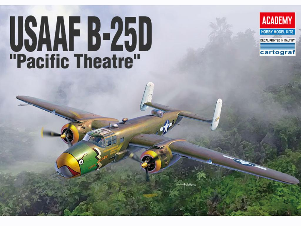 USAAF B-25D Pacific Theatre (Vista 1)