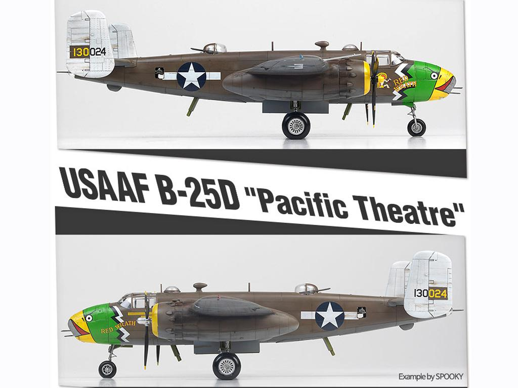 USAAF B-25D Pacific Theatre (Vista 2)