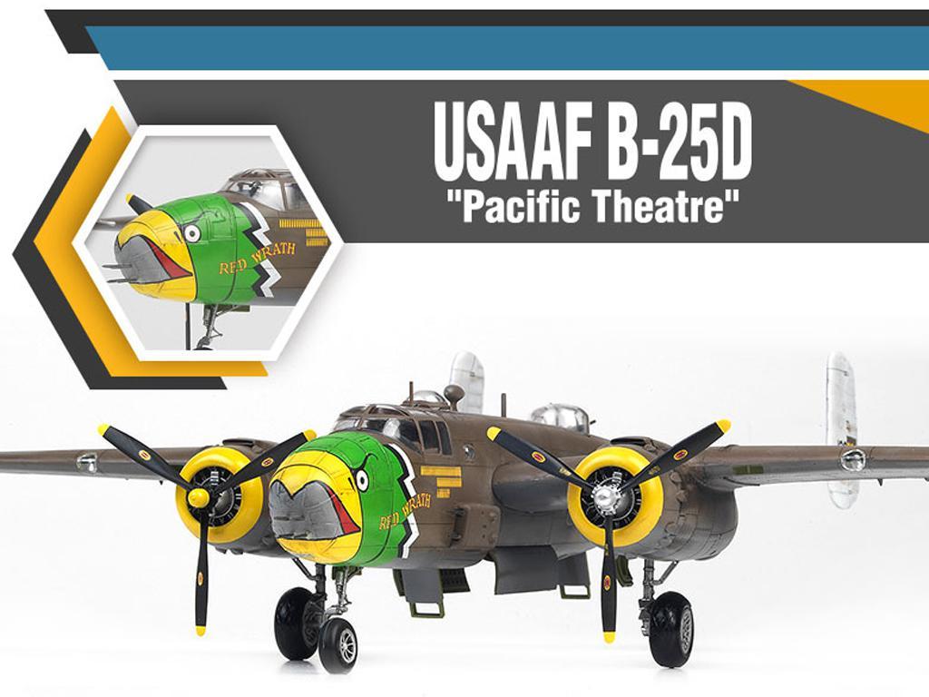 USAAF B-25D Pacific Theatre (Vista 4)