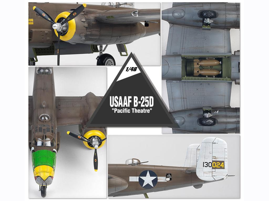 USAAF B-25D Pacific Theatre (Vista 8)