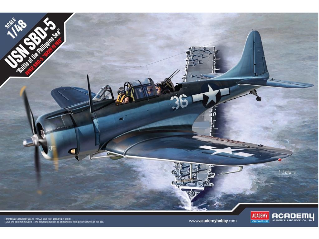 USN SBD-5 Battle of the Philippine Sea (Vista 1)