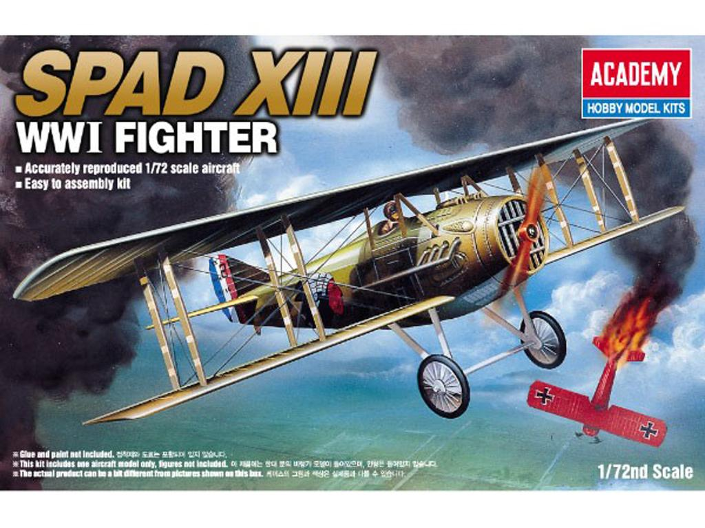 Spad XIII (Vista 1)