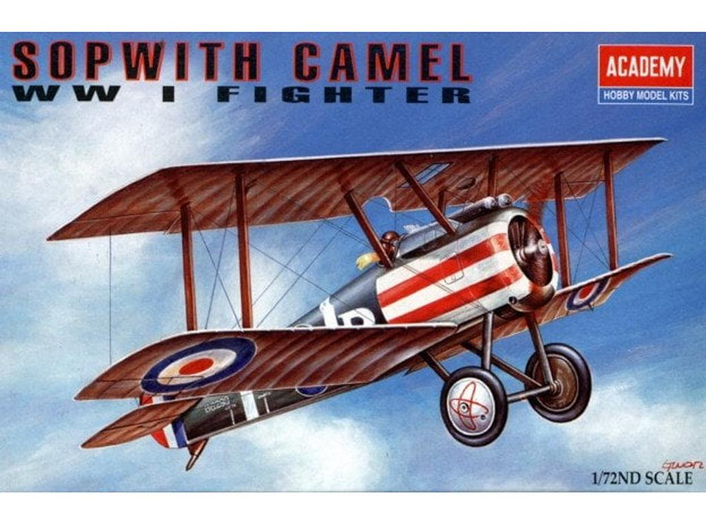 Sopwith Camel F.1 (Vista 1)