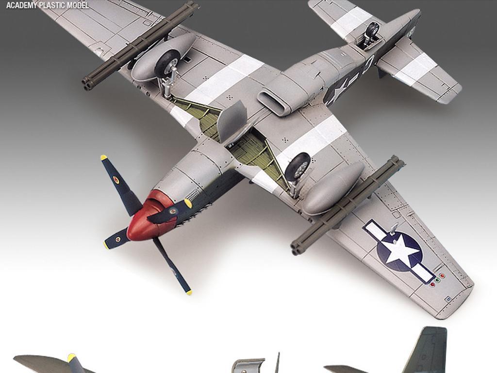 P-51B Mustang  (Vista 4)