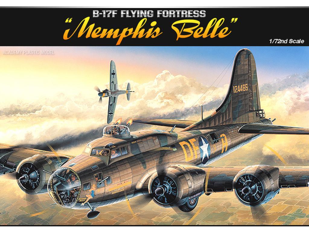 B-17F Flying Fortress Memphis Belle (Vista 1)