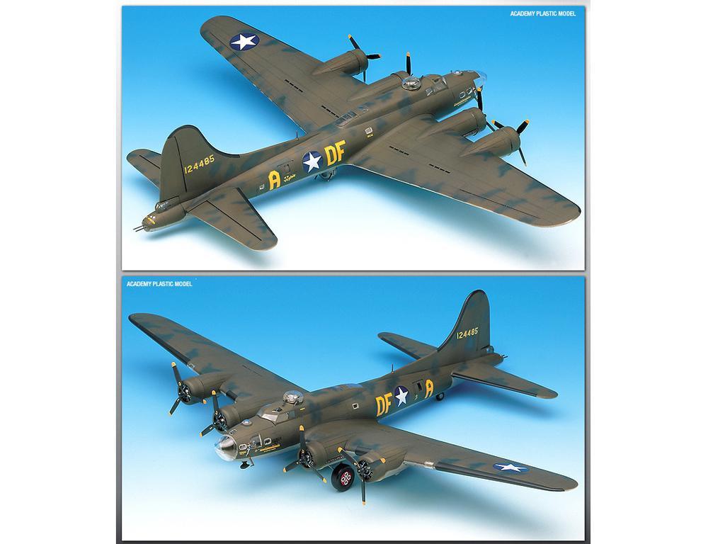 B-17F Flying Fortress Memphis Belle (Vista 2)