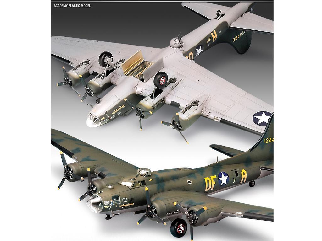 B-17F Flying Fortress Memphis Belle (Vista 3)