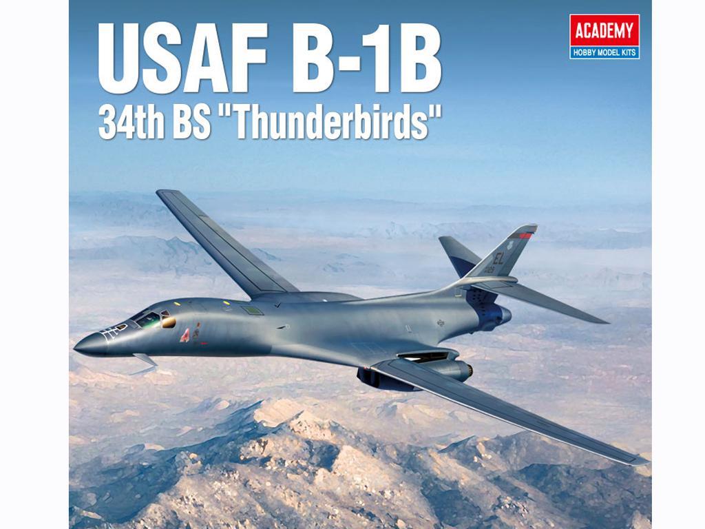 USAF B-1B 34th BS Thunderbirds (Vista 1)