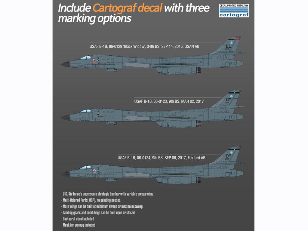 USAF B-1B 34th BS Thunderbirds (Vista 3)