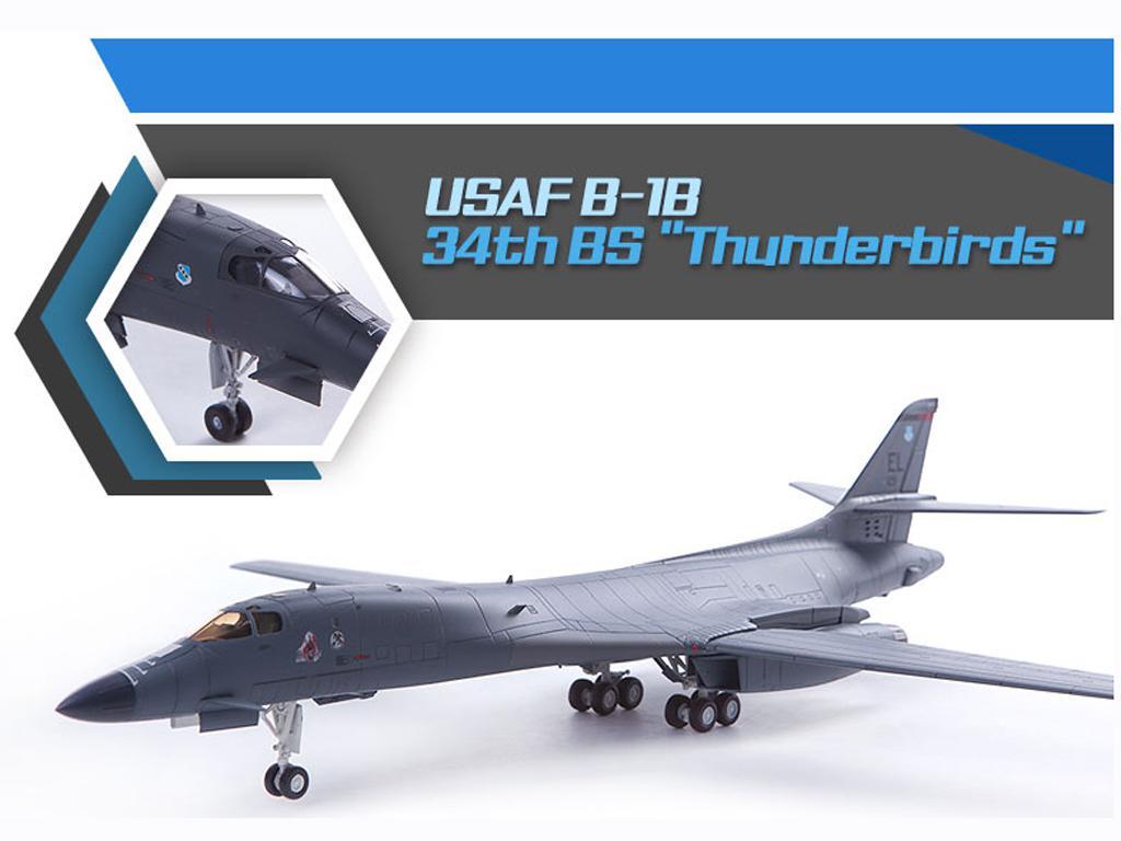 USAF B-1B 34th BS Thunderbirds (Vista 4)