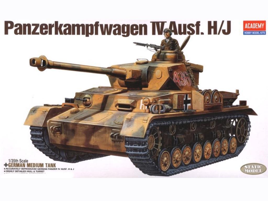 Panzer IV Ausf. H/J (Vista 1)