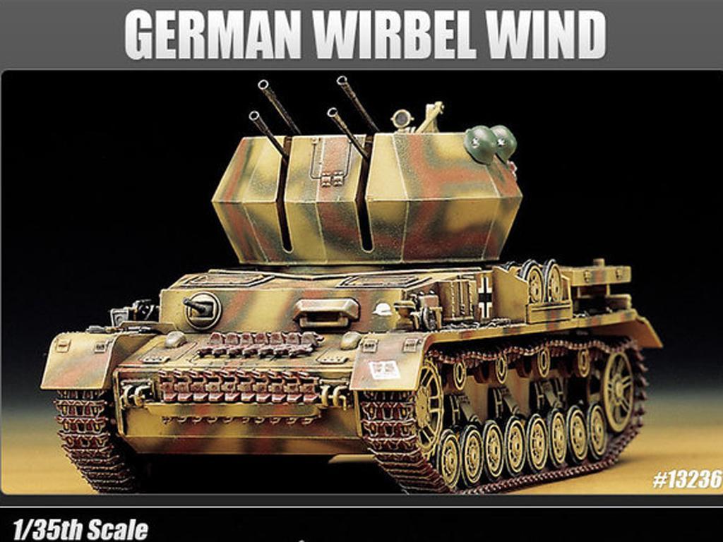 Flakpanzer IV Wirbelwind (Vista 2)