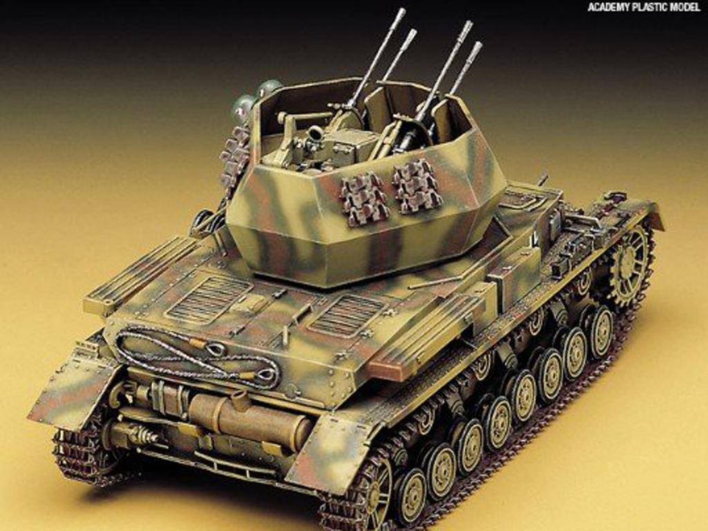 Flakpanzer IV Wirbelwind (Vista 3)
