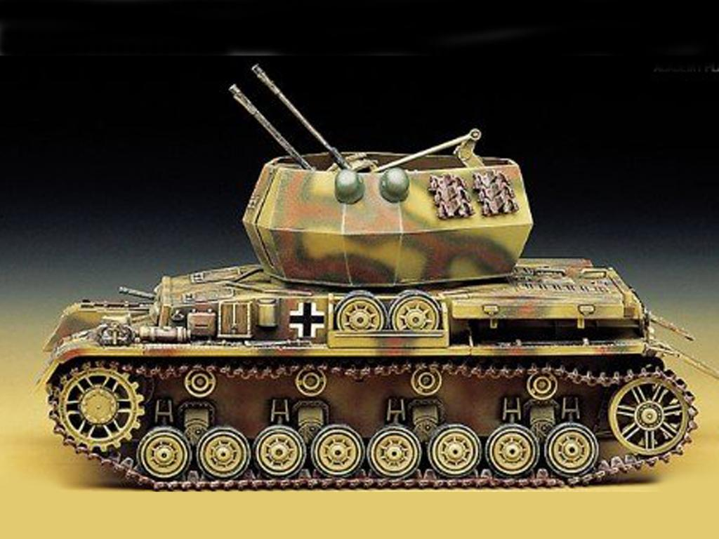 Flakpanzer IV Wirbelwind (Vista 4)