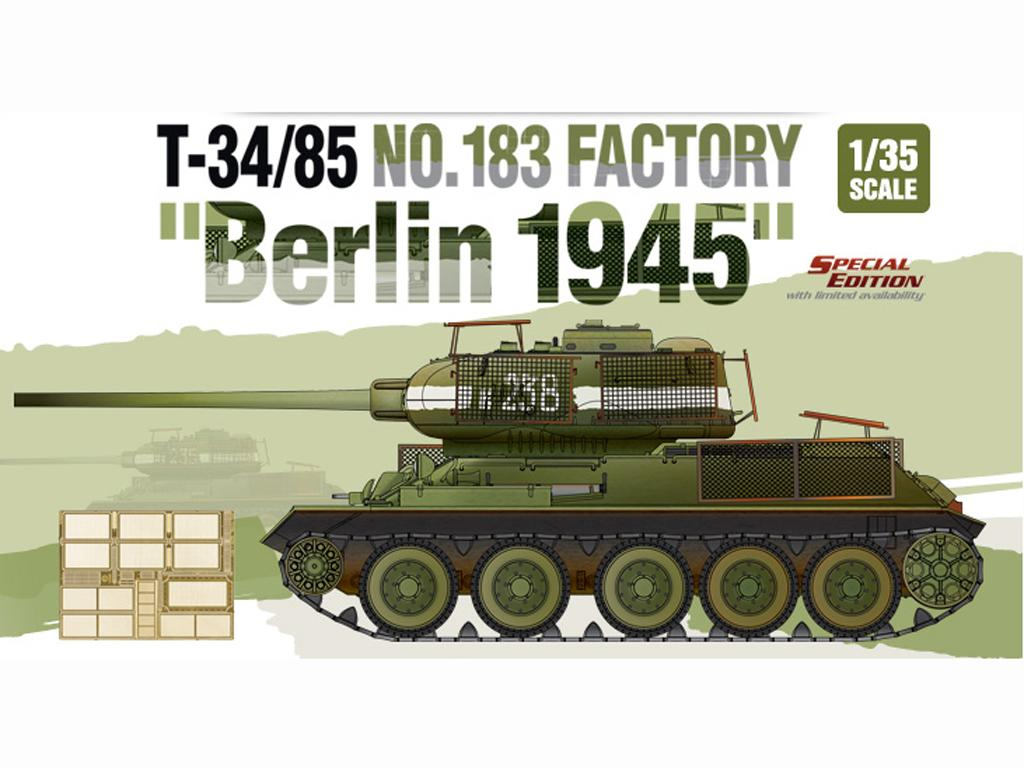T-34/85 No.183 Factory - Berlin 1945 (Vista 1)