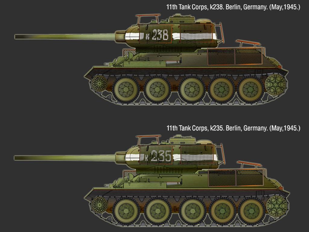T-34/85 No.183 Factory - Berlin 1945 (Vista 2)