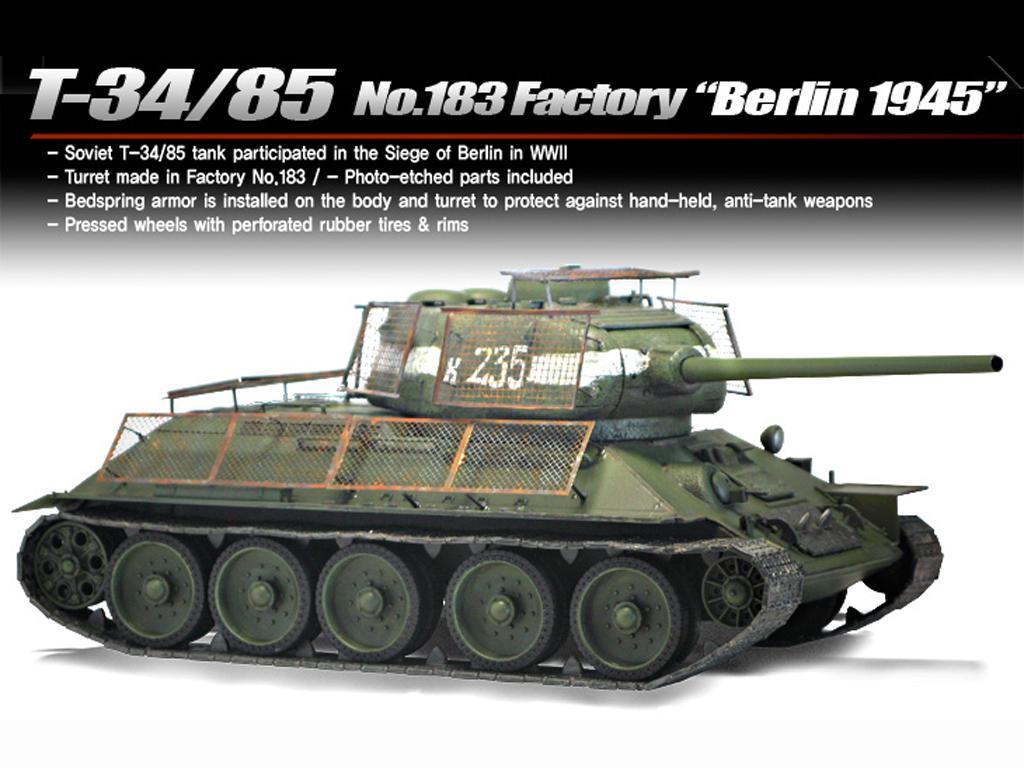 T-34/85 No.183 Factory - Berlin 1945 (Vista 3)