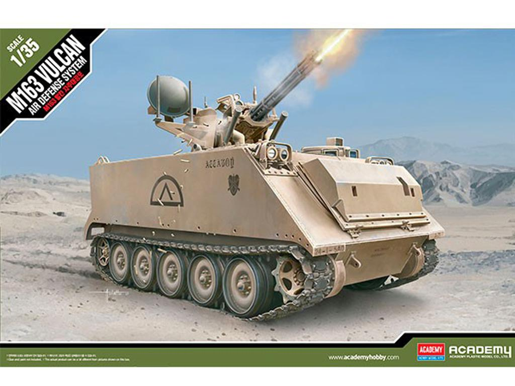 M163 A1/A2 Vulcan Spaag (Vista 1)