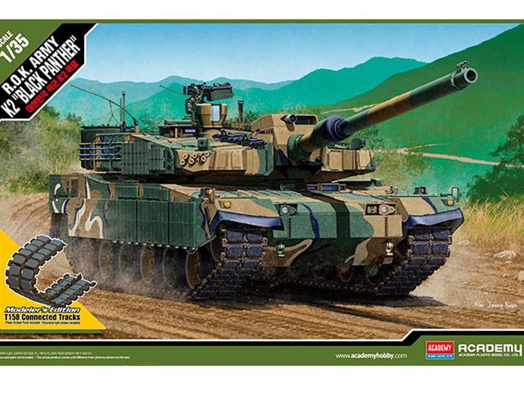 ROK Army K2 Black Panther (Vista 1)