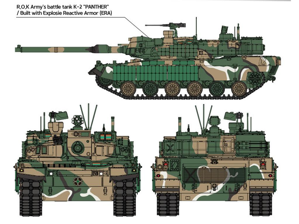ROK Army K2 Black Panther (Vista 3)
