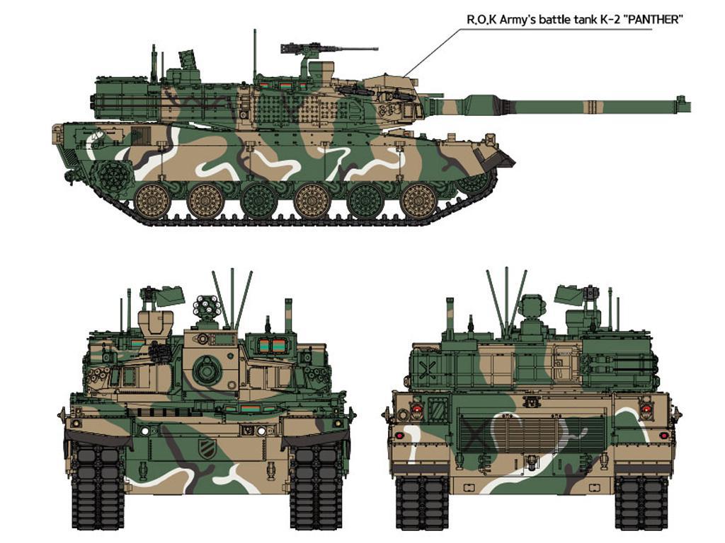 ROK Army K2 Black Panther (Vista 4)
