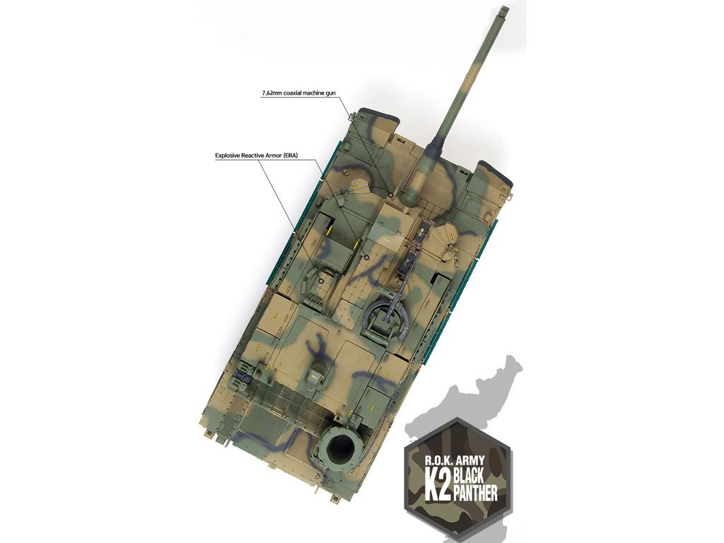 ROK Army K2 Black Panther (Vista 9)