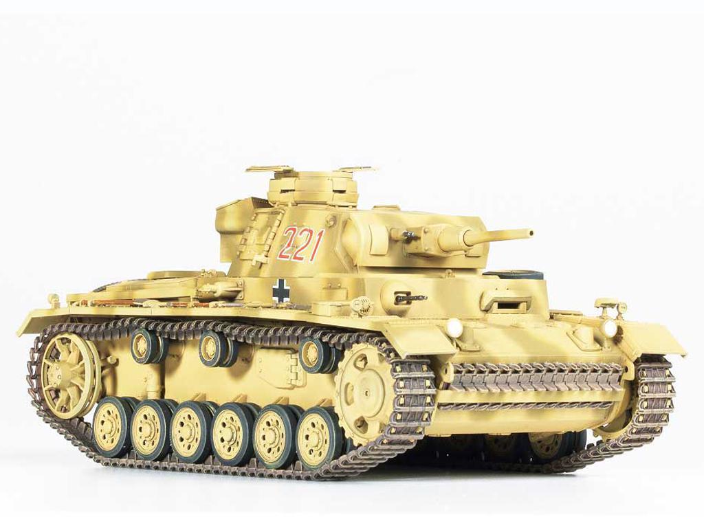 Panzer III Ausf.J  (Vista 2)