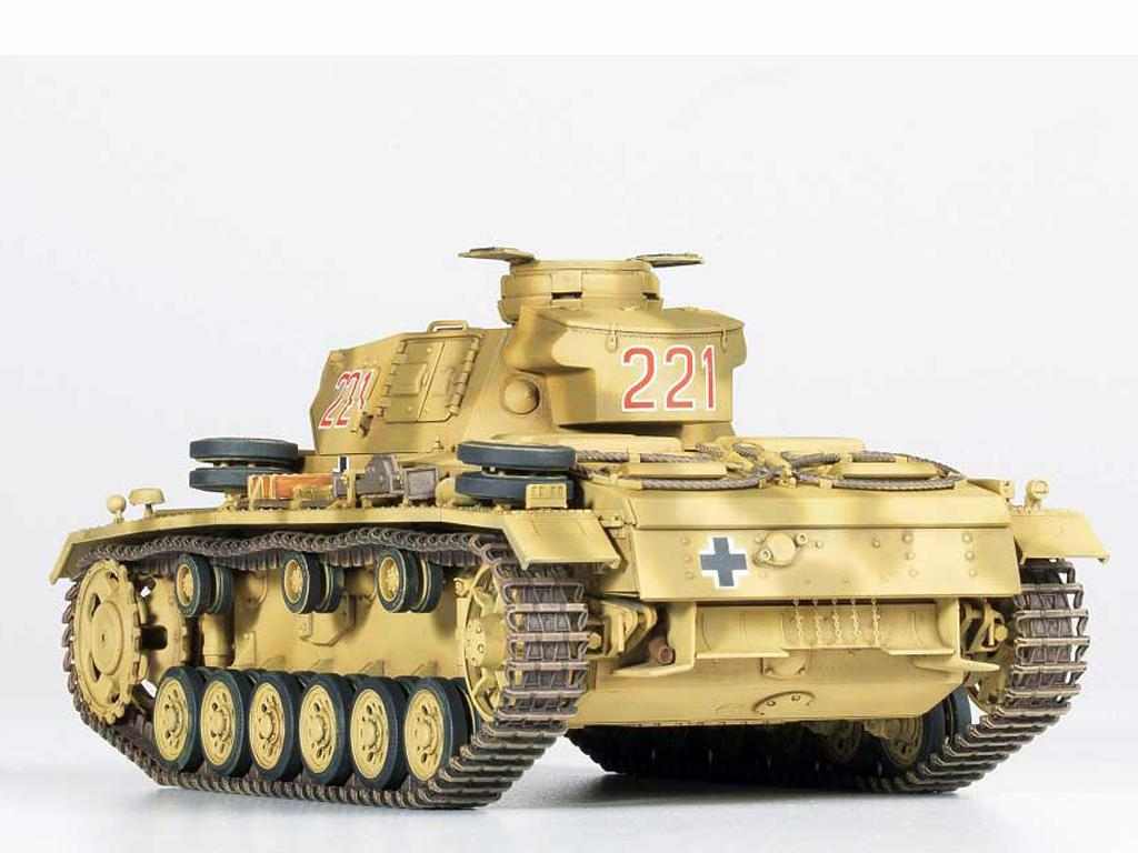 Panzer III Ausf.J  (Vista 8)