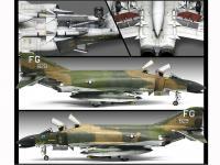 USAF F-4C  (Vista 6)