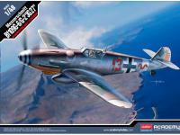 Messerschmitt BF109G-6/G-2 JG 27 (Vista 2)