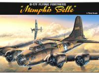B-17F Flying Fortress Memphis Belle (Vista 4)