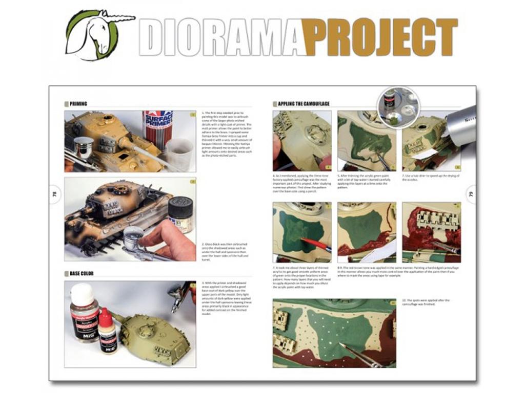 Diorama Project 1.1 - Vehículos Militares  (Vista 13)