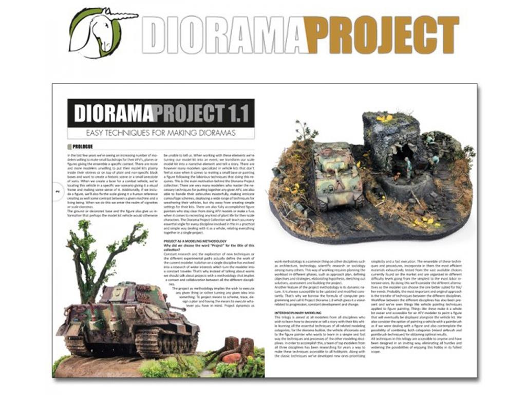 Diorama Project 1.1 - Vehículos Militares  (Vista 2)