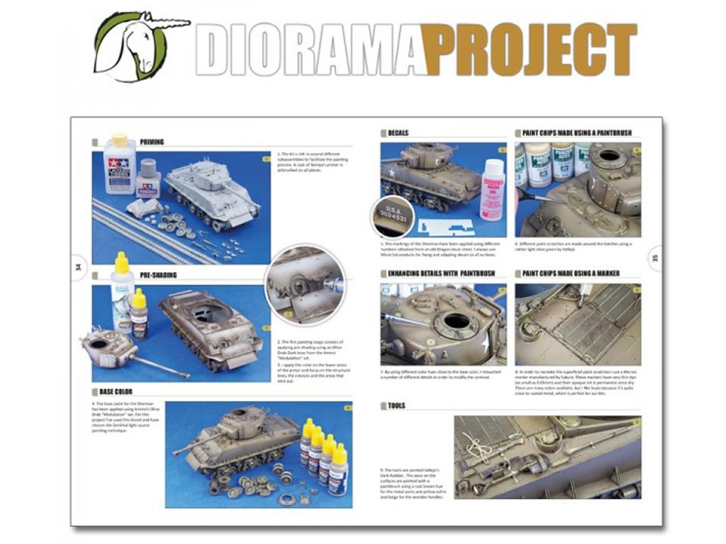 Diorama Project 1.1 - Vehículos Militares  (Vista 6)