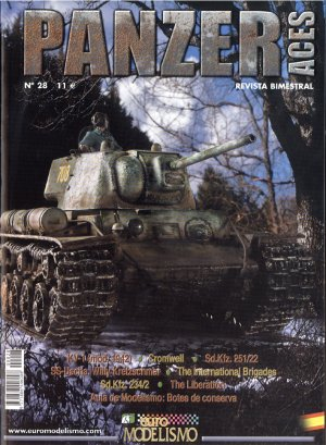 Panzer Aces Nº 28  (Vista 1)