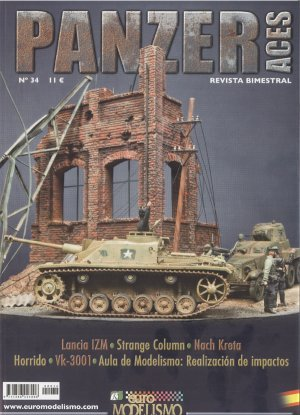 Panzer Aces Nº 34 - Ref.: ACCI-PAN034