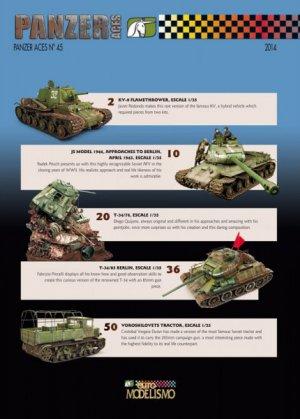 Panzer Aces Nº 45  (Vista 2)