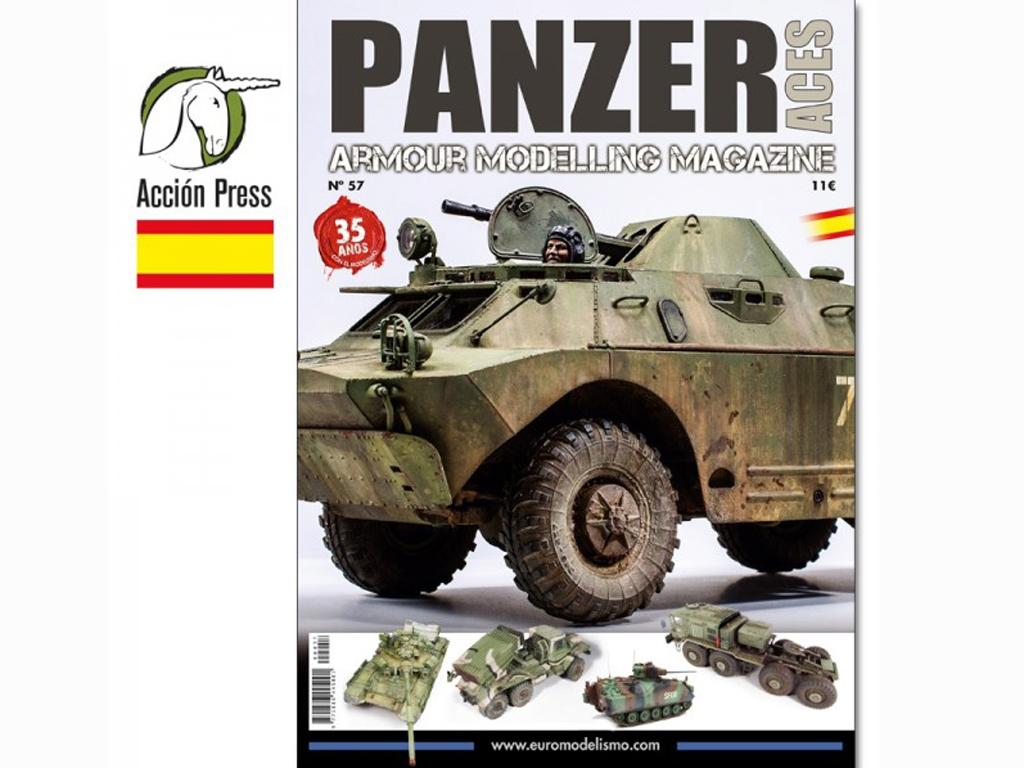 Panzer Aces Nº 57  (Vista 1)