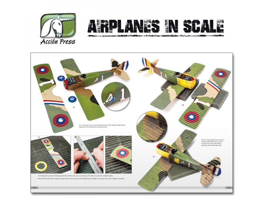 Airplanes in Scale - First World War  (Vista 11)