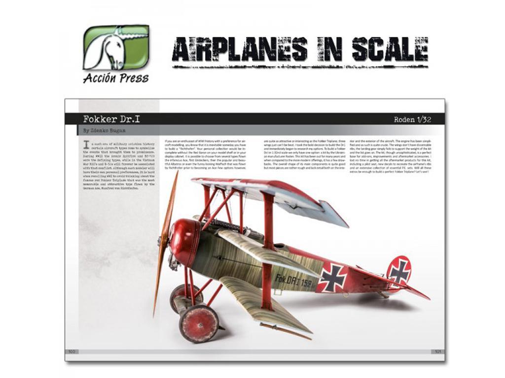 Airplanes in Scale - First World War  (Vista 12)
